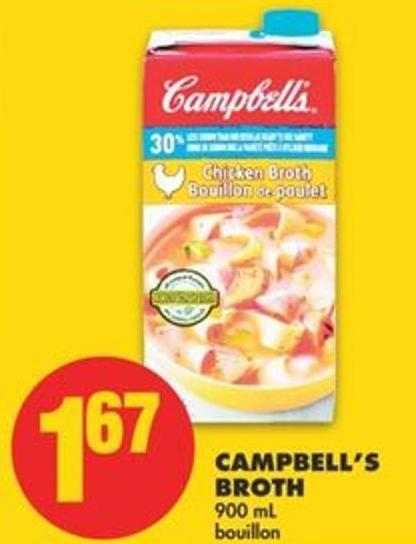 Campbell's Broth 900 mL Bouillon