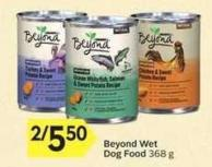 Beyond Wet Dog Food