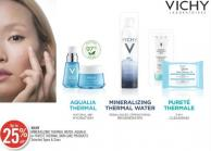 Vichy Mineralizing Thermal Water - Aqualia or Pureté Thermal Skin Care Products