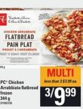 PC Chicken Arrabbiata Flatbread - 344 G