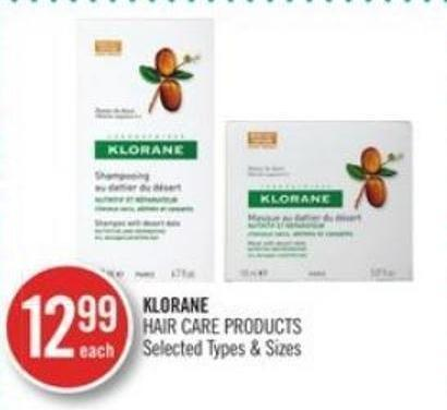 Klorane Hair Care Products
