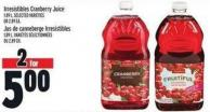 Irresistibles Cranberry Juice 1.89 L