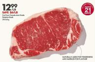 Cut From Canada Aaa Grade  Striploin Steak