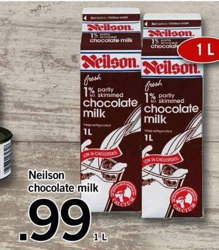 Neilson Chocolate Milk - 1 L