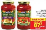 Catelli Garden Select Pasta Sauce 640 mL