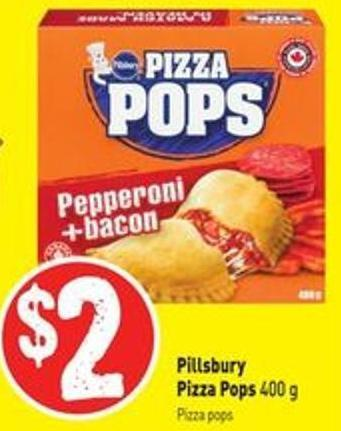 Pillsbury Pizza Pops 400 g