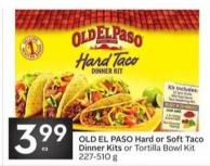 Old El Paso Hard or Soft Taco Dinner Kits