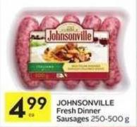 Johnsonville Fresh Dinner Sausages
