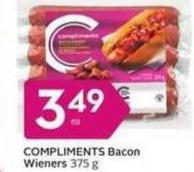 Compliments Bacon Wieners