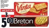 Breton - Grissol Or Vinta Crackers
