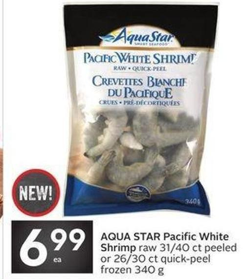Aqua Star Pacific White Shrimp Raw