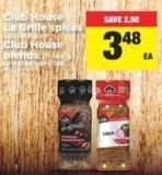 Club House La Grille Spices - 120-248 g or Club House Blends - 111-144 g