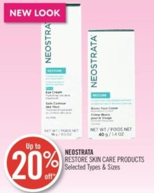 Neostrata Restore Skin Care Products