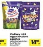 Cadbury Mini Eggs Chocolate Pouches - 745/943 g