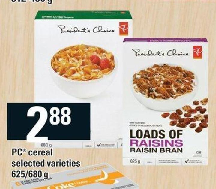 PC Cereal - 625/680 g