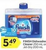 Finish Dishwasher Cleaner - 10 Air Miles