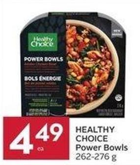 Healthy Choice Power Bowls 262 - 276 g