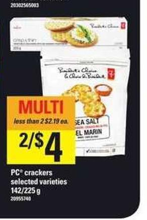 PC Crackers - 142-225 g
