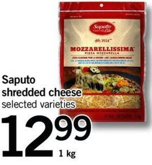 Saputo Shredded Cheese - 1 Kg$