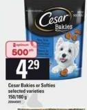 Cesar Bakies Or Softies - 150/180 g