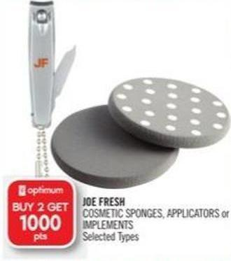 Joe Fresh Cosmetic Sponges - Applicators or Implements