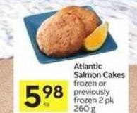 Atlantic Salmon Cakes