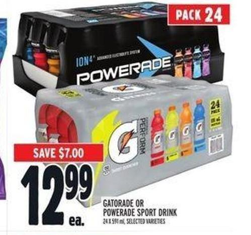 Gatorade or Powerade Sport Drink