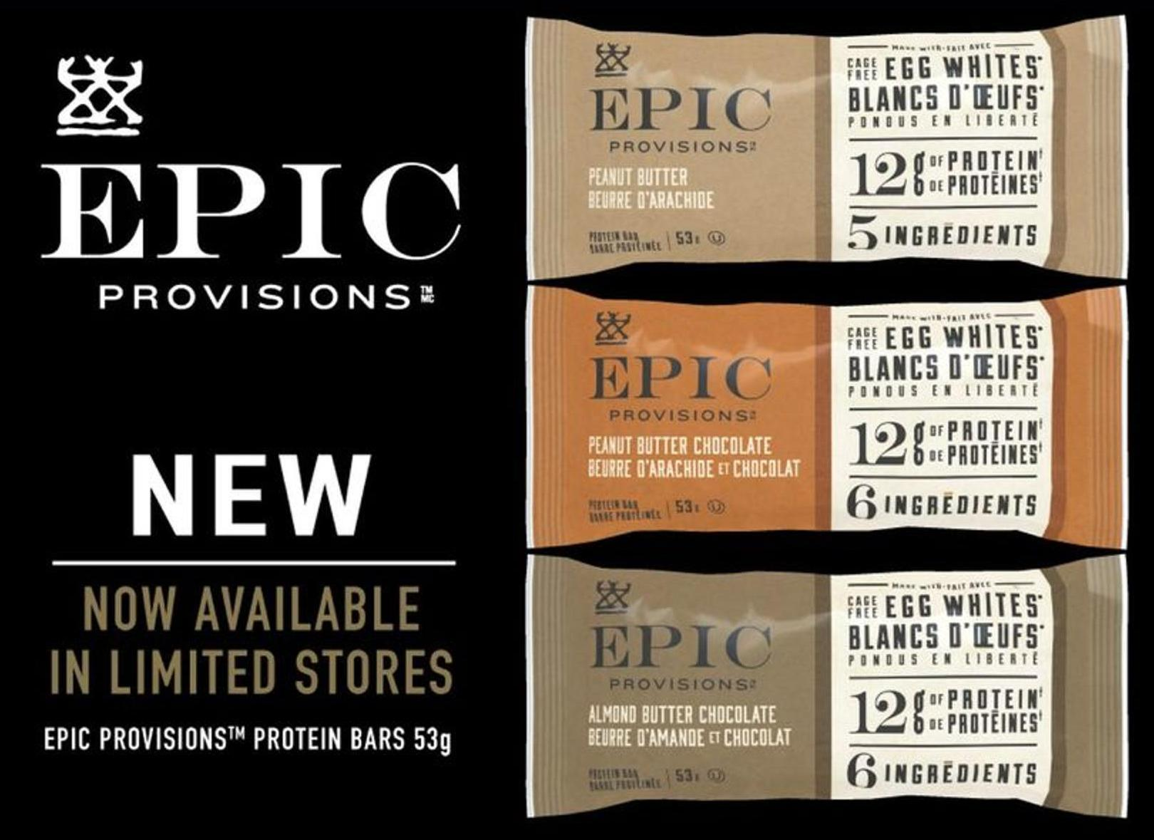 Epic Provisions Protein Bars