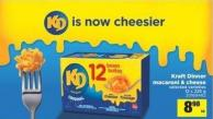Kraft Dinner Macaroni & Cheese - 12 X 225 G