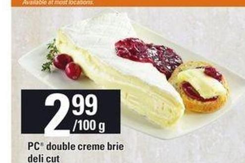 PC Double Creme Brie