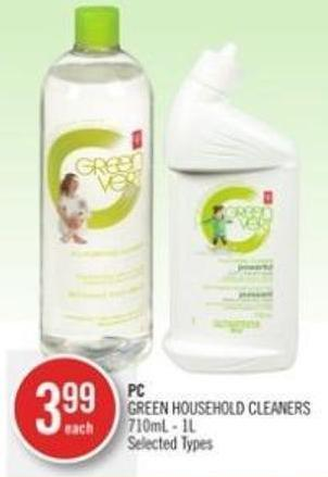 PC Green Household Cleaners 710ml - 1l