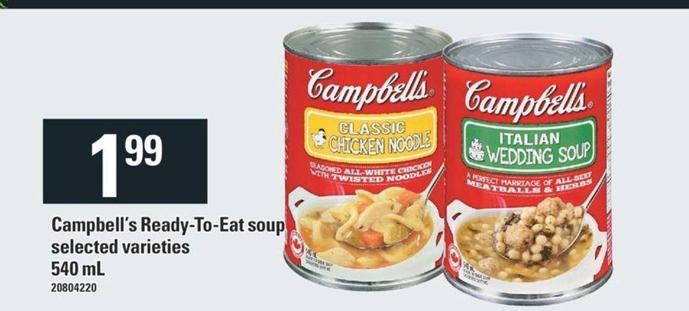 Campbell's Ready-to-eat Soup - 540 mL