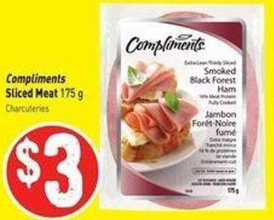 Compliments Sliced Meat 175 g