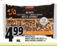 Irresistibles Walnut Halves And Pieces 250 g Whole Natural Almonds 250 g