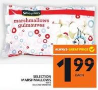 Selection Marshmallows