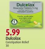Dulcolax Constipation Relief 30