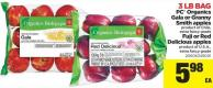 PC Organics Gala Or Granny Smith Apples - Fuji Or Red - 3 Lb Bag