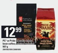 PC Or Pride Of Arabia Whole Bean Coffee - 907 G