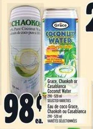 Grace - Chaokoh Or Casablanca Coconut Water
