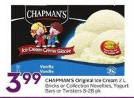 Chapman's Original Ice Cream 2 L