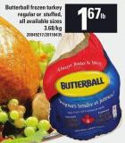 Butterball Frozen Turkey