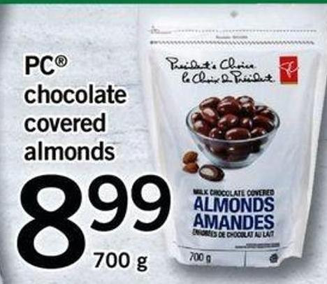 PC Chocolate Covered Almonds
