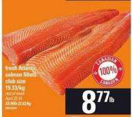 Fresh Atlantic Salmon Fillets - Club Size