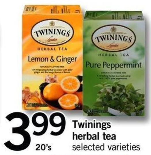 Twinings Herbal Tea - 20's