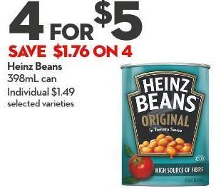 Heinz Beans  398ml Can
