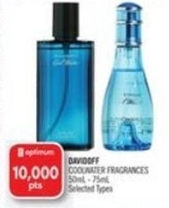 Davidoff Coolwater Fragrances 50ml - 75ml