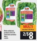Dole Salad Mix - 142 g