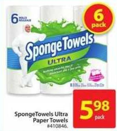 Sponge Towels Ultra Paper Towels