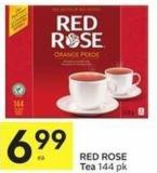 Red Rose Tea 144 Pk