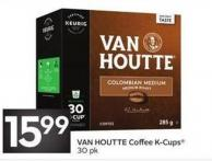 Van Houtte Coffee K-cups 30 Pk
